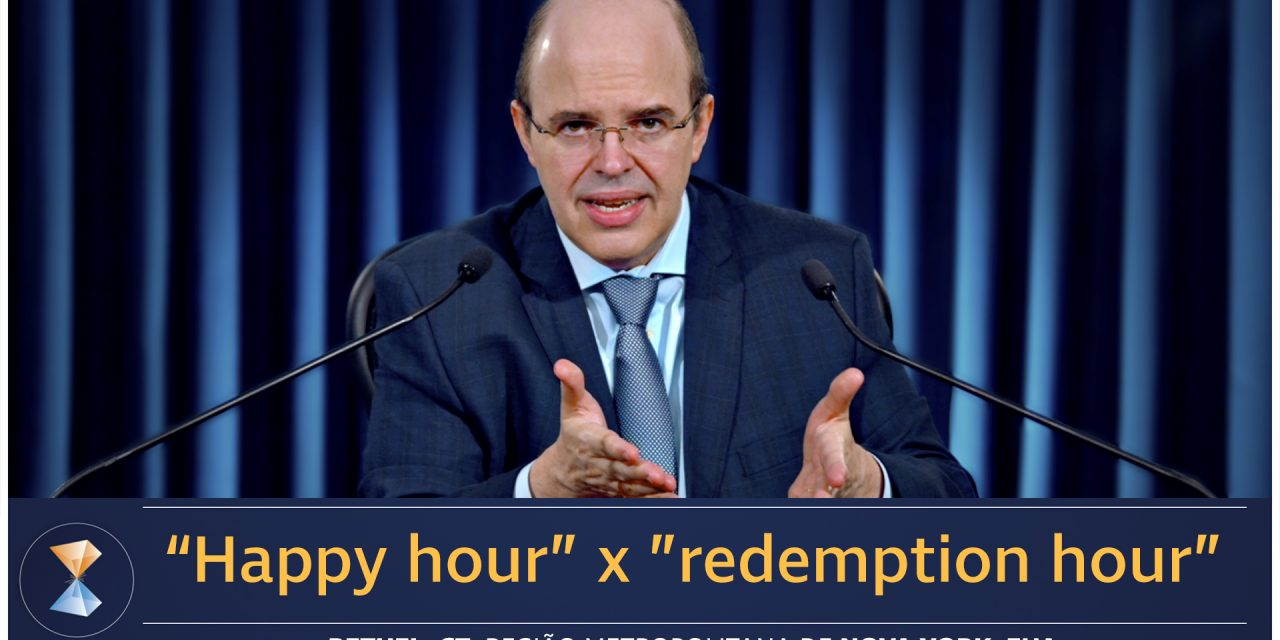 """Happy hour"" x ""redemption hour"""